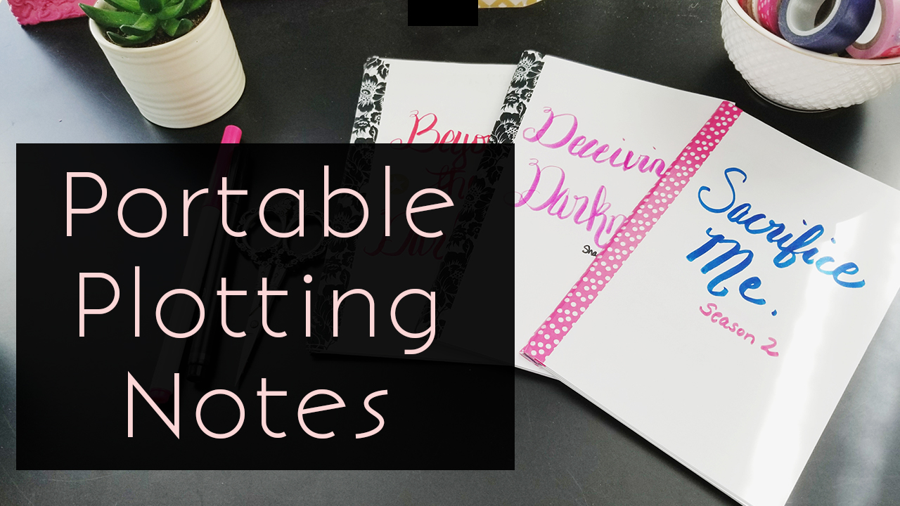 How To Make A Portable Plot Notes Booklet With Index Cards