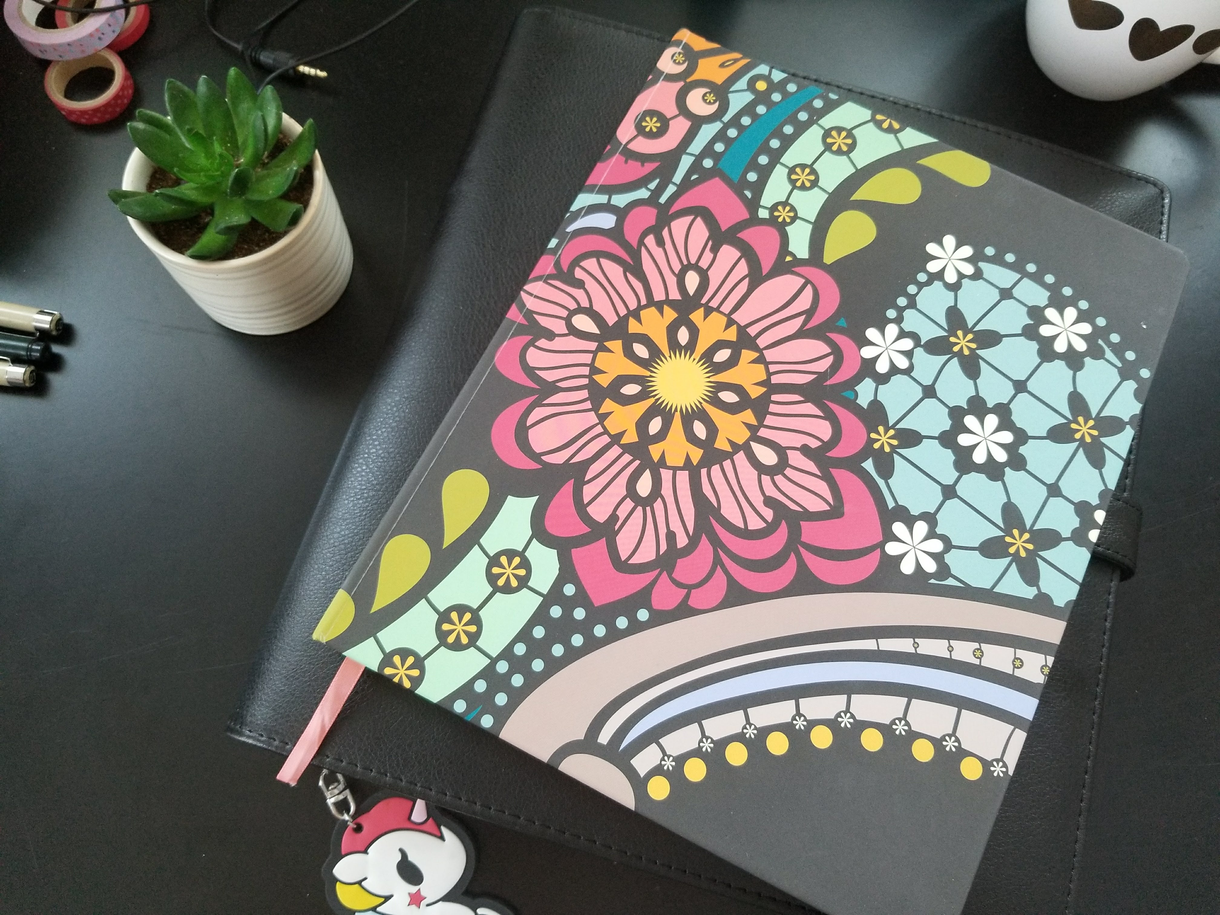 How I Turned An Old Happy Planner Into My Plotting Notebook