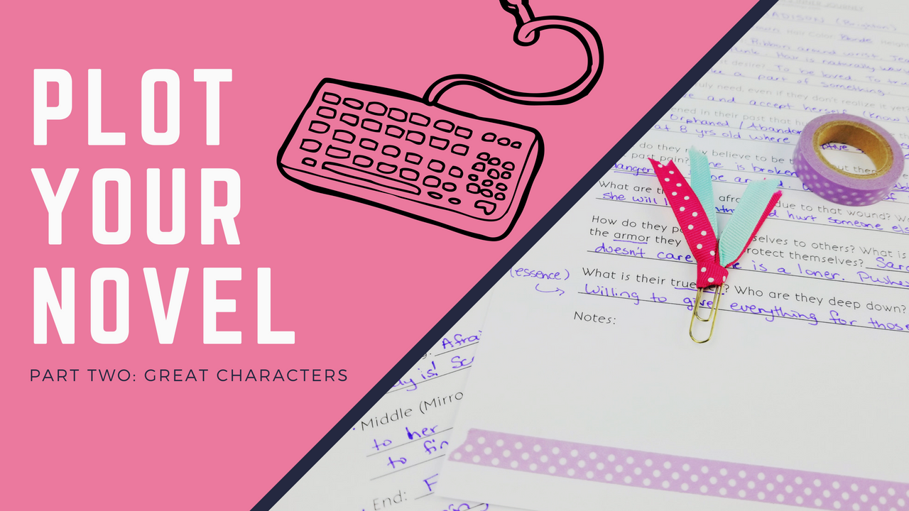 How To Plot Your Novel, Part Two: Writing Great Characters