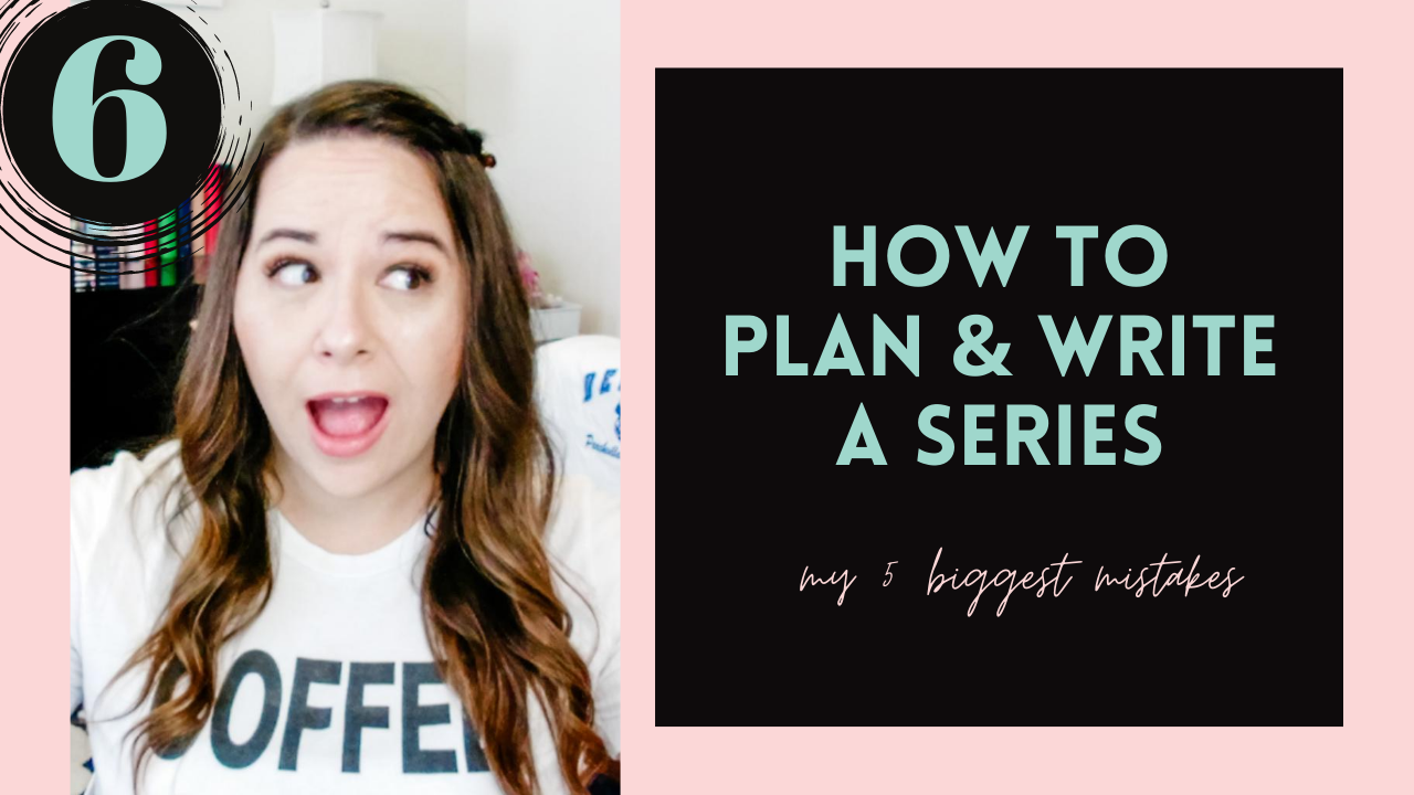 My 5 Biggest Mistakes In Series Writing & Publishing (How To Plan & Write A Series, #6)