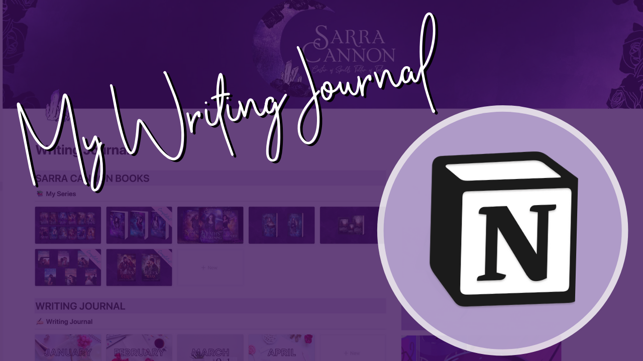 How I use Notion for my Writing Journal