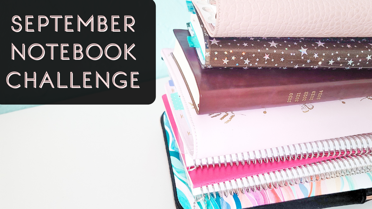 September's Notebook Challenge and Giveaway